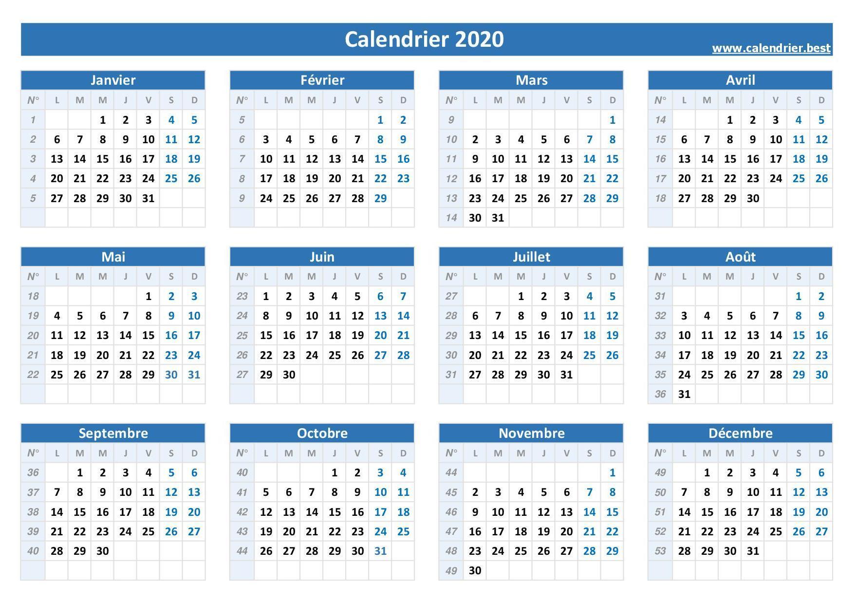 Semaine paire et impaire 2020  Calendrier.best