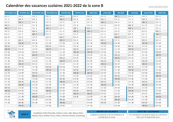 Calendrier Universitaire Lille 2021 2022 Vacances scolaires 2020 2021 et 2021 2022 Lille : dates et calendrier